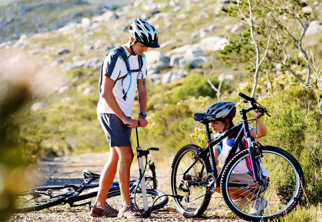 How to Pump Bicycle Tire
