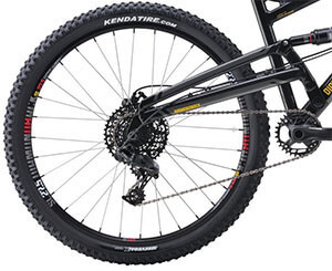 DB Bicycles Atroz Full Suspension Bike Gearing
