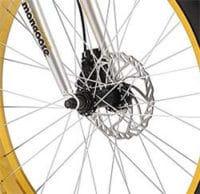 Malus Fat Bike powerful brakes