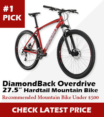 Best Mountain Bikes Under 500 Dollars