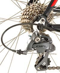 Drivetrain of Vilano FORZA Road BIke