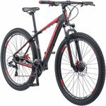 Schwinn Bonafide Mountain Bike with Front Suspension 17 Inch Medium Aluminum Frame and 24-Speed Shimano Drivetrain with 29-Inch Wheels and Mechanical Disc Brakes