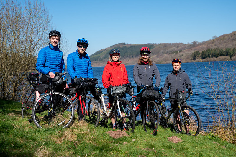 The young cyclists on a journey for environmental change - The team